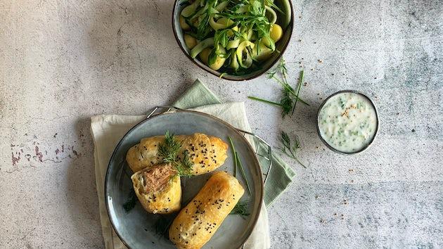 Zalm en croute | Maaltijdbox recepten