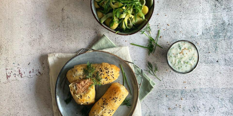Zalm en croute   Maaltijdbox recepten