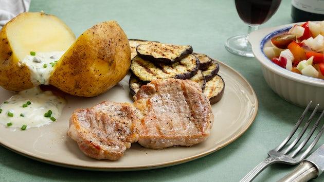 Proqureursteak met gepofte aardappel   Recept uit de maaltijdbox