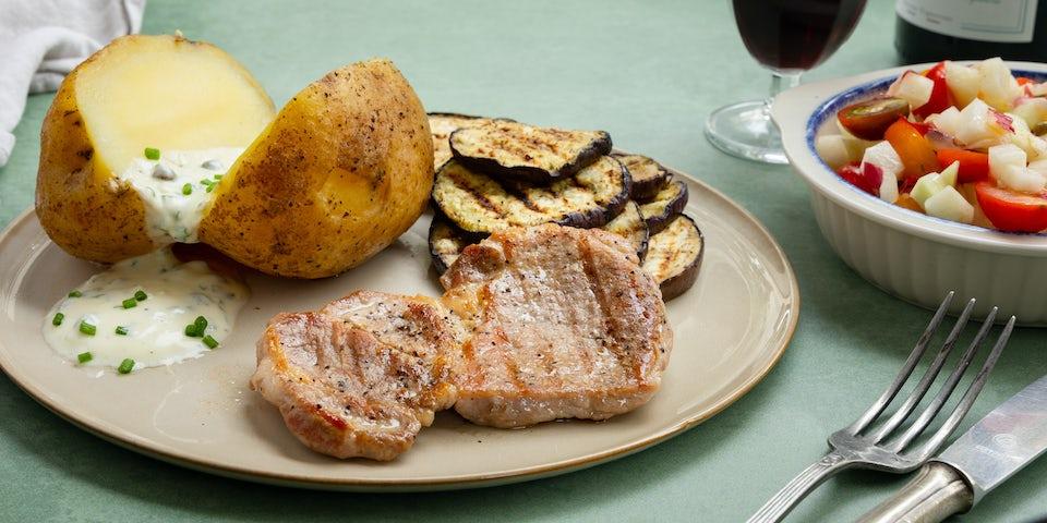 Proqureursteak met gepofte aardappel | Recept uit de maaltijdbox