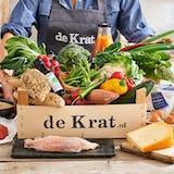 Maaltijdbox met lokale producten, vlees van de boer, duurzame vis, streekproducten