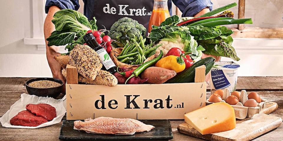 Maaltijdbox met duurzame lokale producten