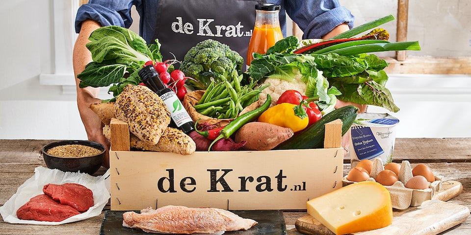 Runderburger met aardappel en salade   Maaltijdbox recepten