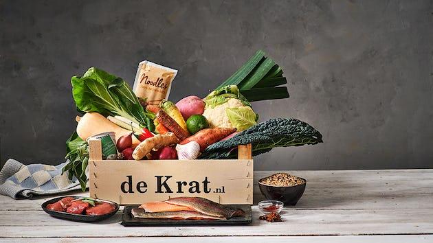 Spinazie-broccoli taart met Brabantse Blauwschimmelkaas | maaltijdbox recepten