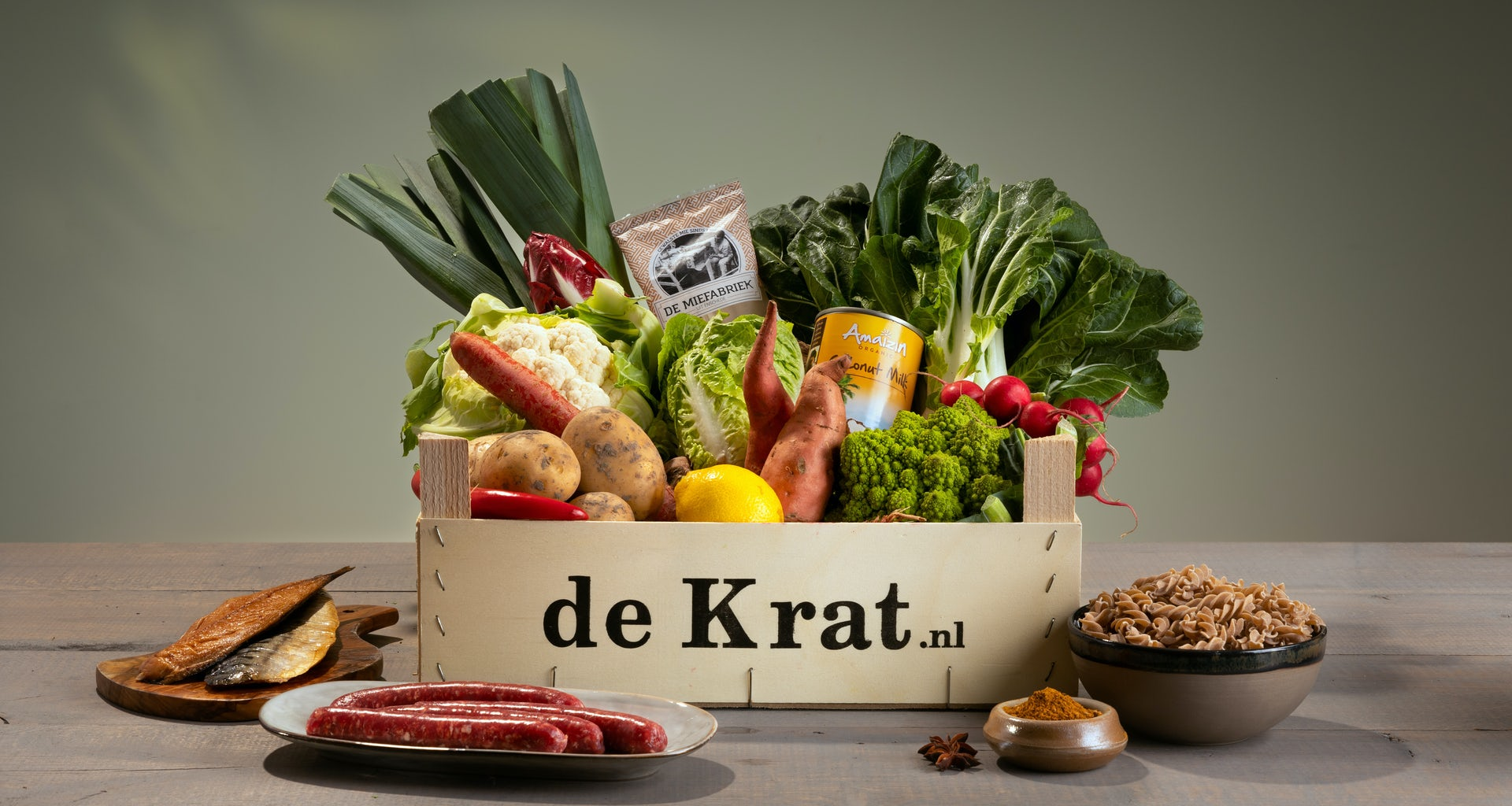 Gemakskrat productfoto maaltijdbox