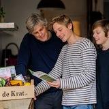 Joost en zonen Krat maaltijdbox met receptboekje