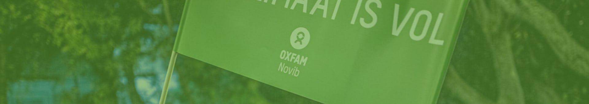 Oxfam novib banner