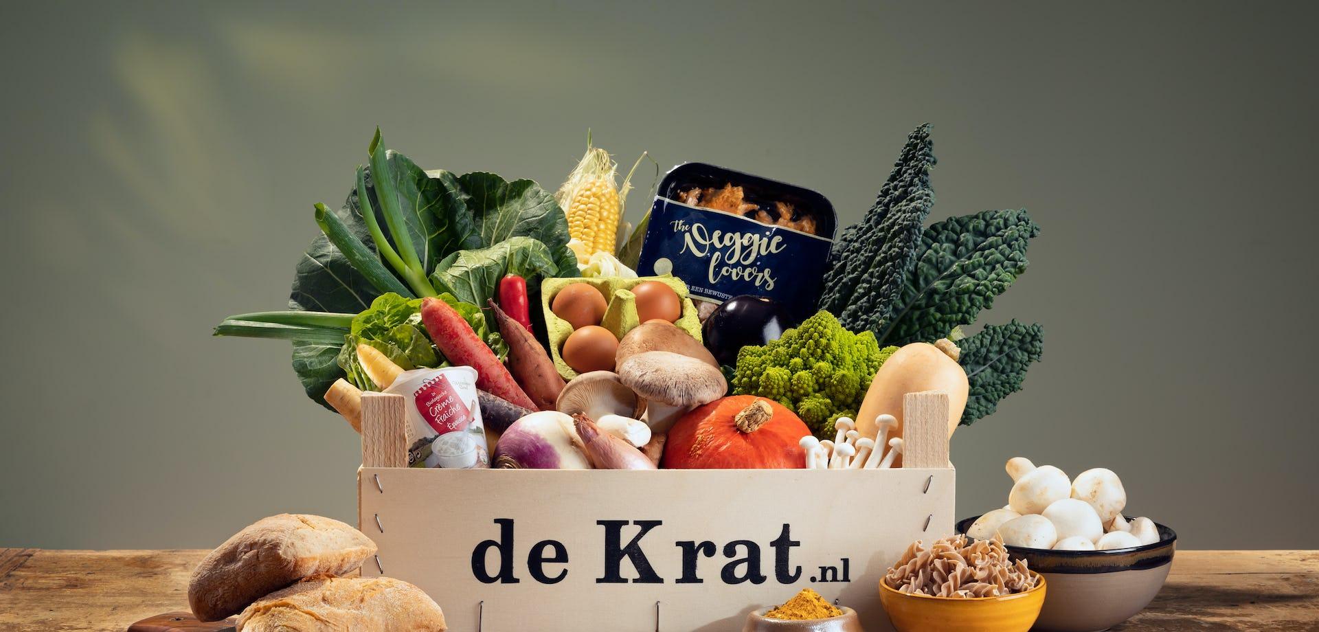 Vega Gemakskrat productfoto maaltijdbox