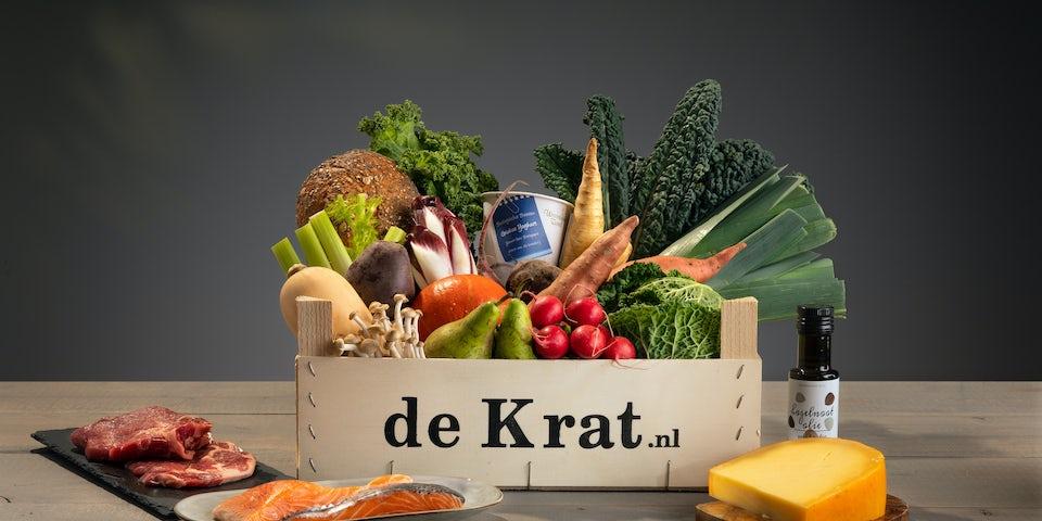 Kip-runderburger met mais en komkommersalade | Maaltijdbox recepten