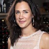 Portret Suzanne van Broekhuizen mede-eigenaar B.J. de Logie