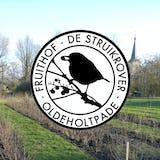 Het logo van De Struikrover afgebeeld voor het boerenland