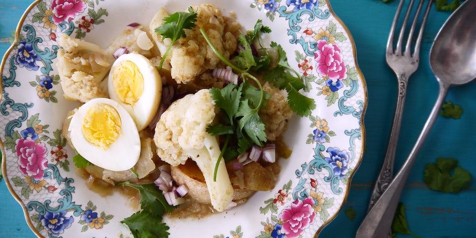 1627 Curry Van Bloemkool Ei En Aardappel