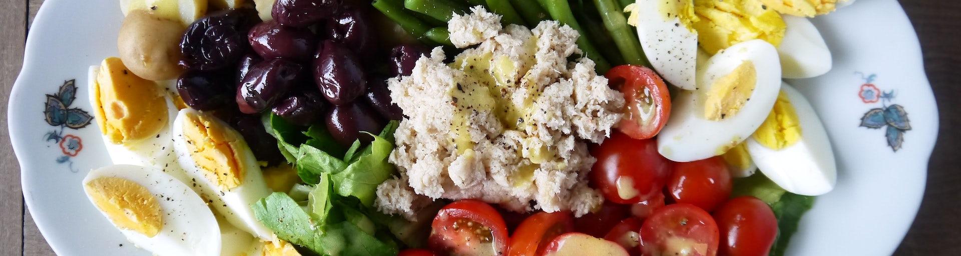 1681 Salade Nicoise Met Visvrije Tonijn