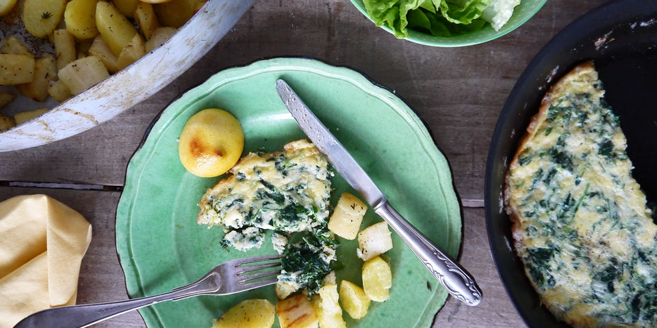 2101 Geroosterde Pastinaak En Aardappel Met Fritatta Van Raapstelen