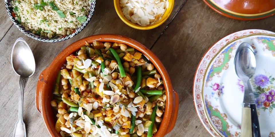 2568 Marokkaanse Tajine Met Couscous