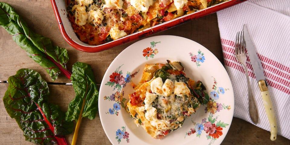 3171 Lasagne Met Snijbiet En Ricotta