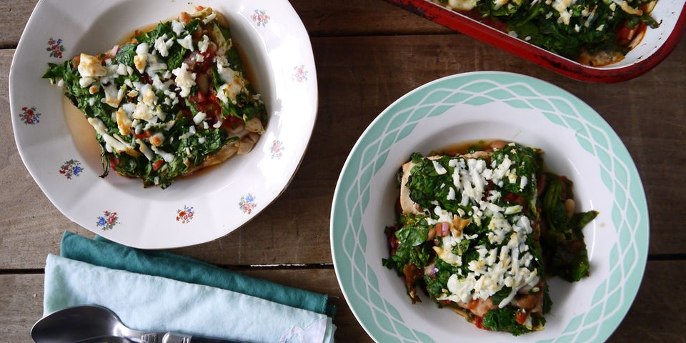 3354 Mexicaanse Lasagne Met Kievietsbonen