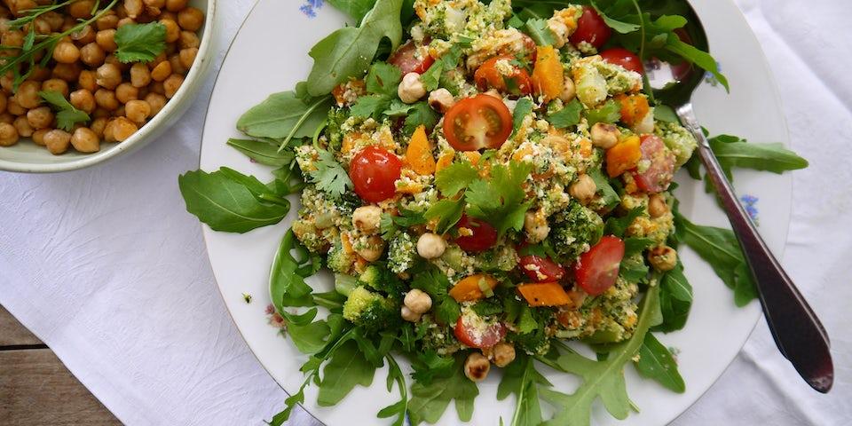 Maaltijdbox recept pastasalade met broccoli en ricotta