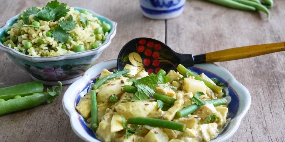 Kant en klaar maass zomerspecial ei curry 1