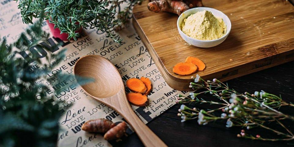Roodlofsalade met yoghurtdressing, dorade en oven aardappels | maaltijdbox recepten