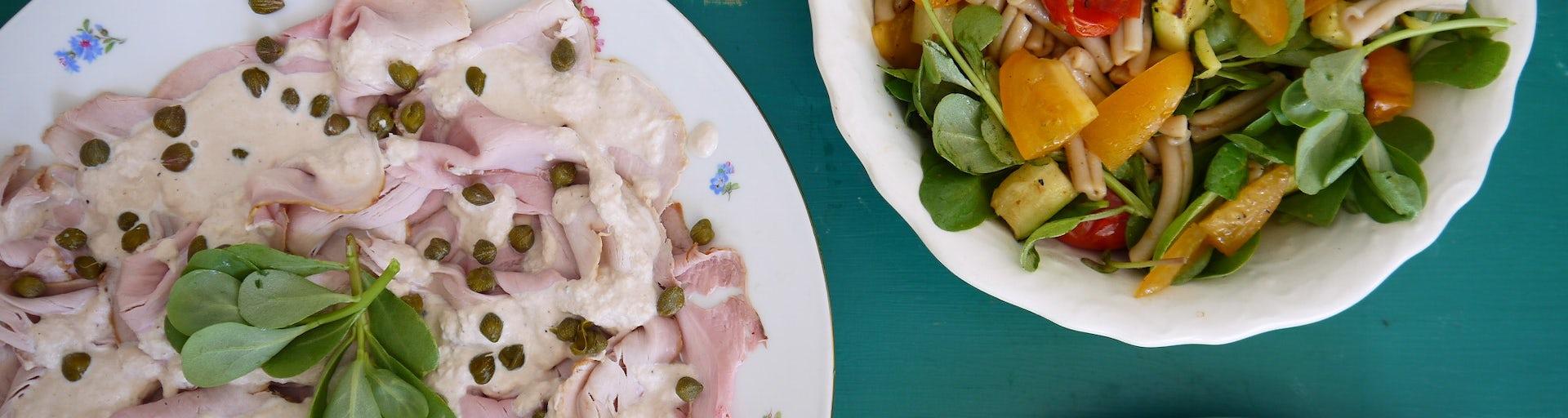Vitello tonnato pastasalade | Maaltijdbox recept
