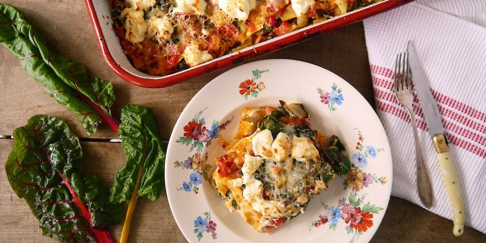 Wk 31 snijbiet lasagne ricotta