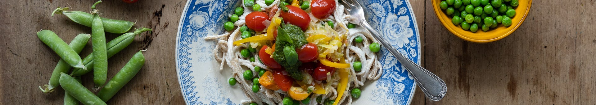 Wk 32 spaghetti vegan creamcheese
