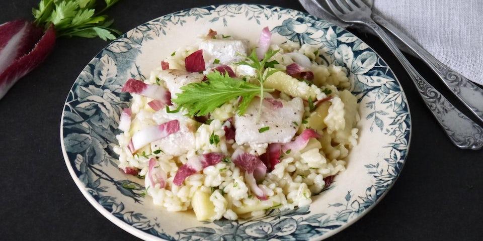 Wk 45 risotto met kabeljauw en schorseneren FP