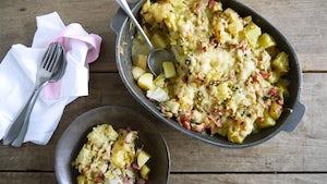 Wk 46 witlof groenloof met ham en kaas