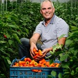 Walter Abma houdt zijn lokale groenten vast