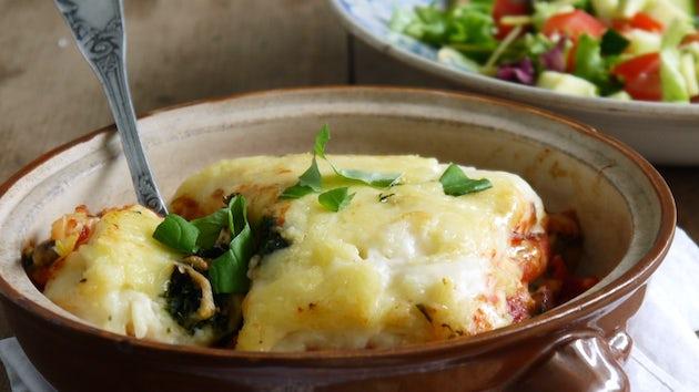 Pastafabriek lasagne bolognese met salade | Maaltijdbox recepten