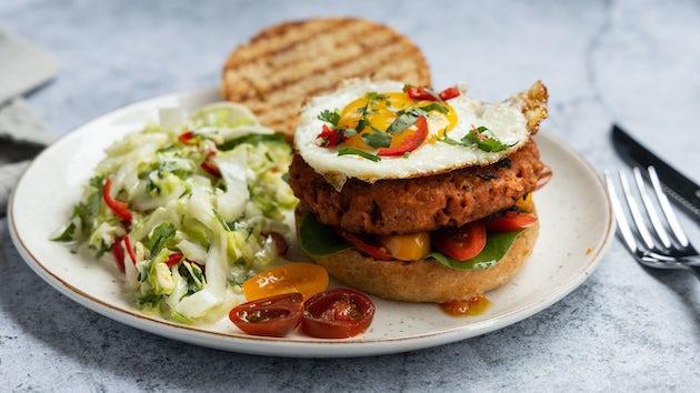 Veggielovers burger recept | Maaltijdbox recepten