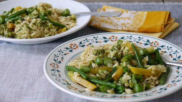 Wk 17 risoni groene groenten kant en klaar