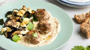 Libanese lams kalfsgehaktballetjes in yoghurtsaus | Maaltijdbox