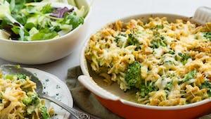 Mac en cheese met salade recept | Maaltijdbox recepten
