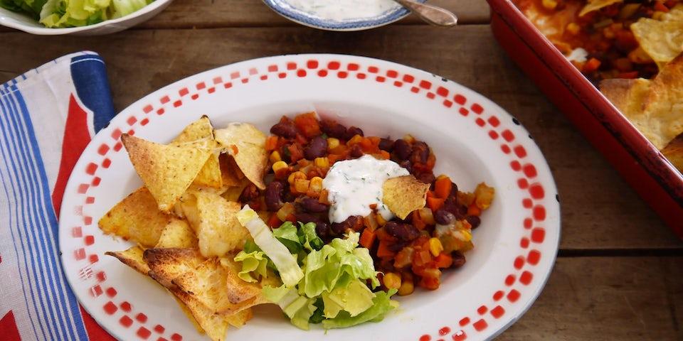 Chili con carne met tortillachips recept | Maaltijdbox recepten