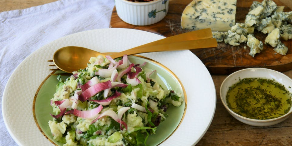 Andijviestamppot met blauwe kaas | Recepten uit de maaltijdbox