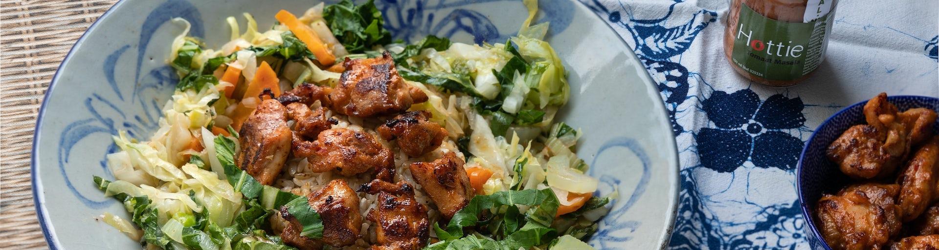 Wk 52 Indonesische kip spitskool paksoit hottie sambal